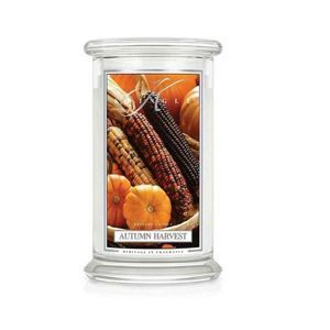 AUTUMN HARVEST Duża świeca z dwoma knotami KRINGLE CANDLE