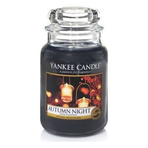 Autumn Night ŚWIECA SŁOIK DUŻY Yankee Candle