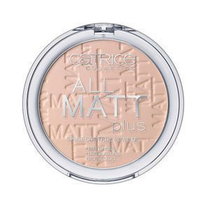CATRICE All Matt Plus Puder Matujący 015 Natural Beige
