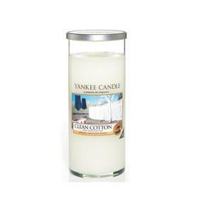 Clean Cotton ŚWIECA PILAR DUŻY Yankee Candle
