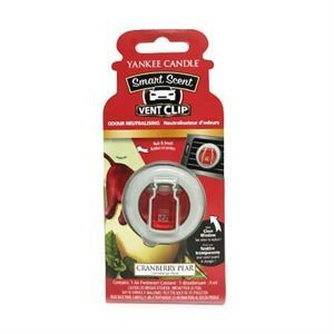 Cranberry Pear CAR VENT CLIP Yankee Candle