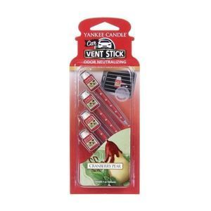 Cranberry Pear CAR VENT STICK Yankee Candle
