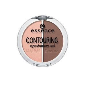 ESSENCE - Cień do powiek CONTOURING EYESHADOW SET 02 brownies with frosting