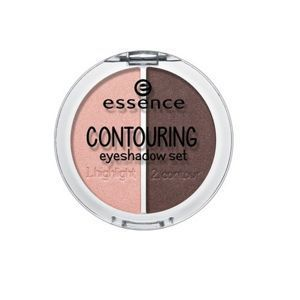 ESSENCE - Cień do powiek CONTOURING EYESHADOW SET 03 roses meet mahagony