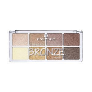 ESSENCE all about BRONZE Paleta 8 Cieni do powiek 01