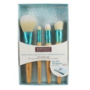 EcoTools FOUR-PIECE BEAUTIFUL COMPLEXION SET Zestaw 4 pędzli