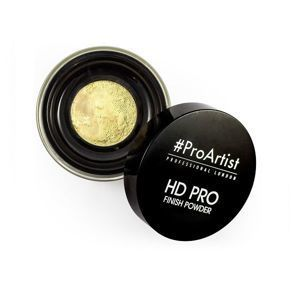FREEDOM MAKEUP HD PRO FINISH POWDER BANANA - Sypki puder do twarzy