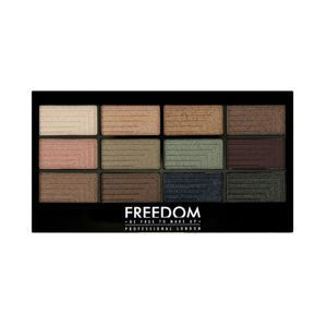 FREEDOM MAKEUP Pro 12 Romance And Jewels PALETA CIENI