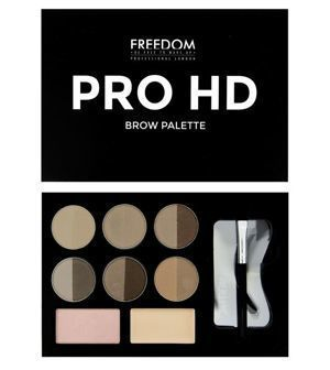 FREEDOM MAKEUP Pro HD Brow ZESTAW DO BRWI Fair Medium