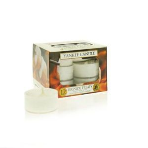 Fireside Treats - TEA LIGHTS Yankee Candle Zestaw 12 Świeczek