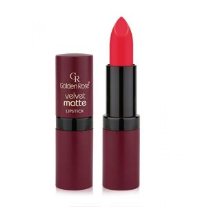 GOLDEN ROSE - Velvet Matte Lipstick - Matowa pomadka do ust 06