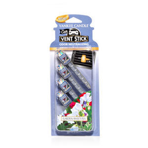 Garden Sweet Pea CAR VENT STICK Yankee Candle