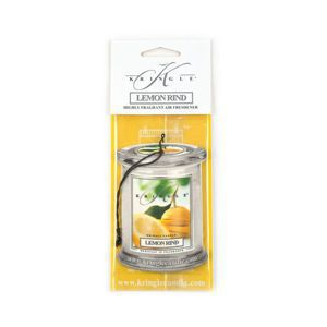 KRINGLE CANDLE Air Freshner LEMON RIND
