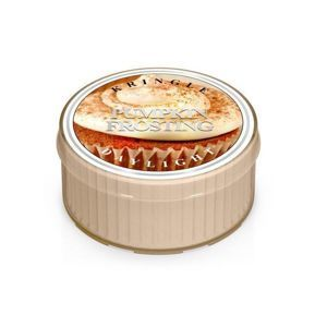 KRINGLE CANDLE  Świeczka Coloured Daylight PUMPKIN FROSTING