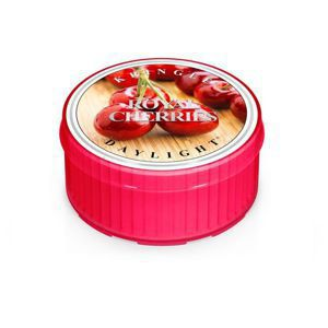 KRINGLE CANDLE Świeczka Coloured Daylight ROYAL CHERRIES