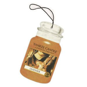 Leather - CAR JAR Yankee Candle
