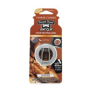 Leather CAR VENT CLIP Yankee Candle