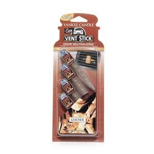 Leather CAR VENT STICK Yankee Candle