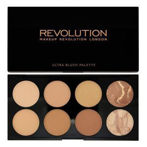 MAKEUP REVOLUTION Bronze Palette PALETA BRONZERÓW All about Bronzed