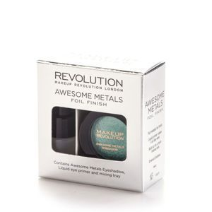 MAKEUP REVOLUTION Eye foils cień EMERALD