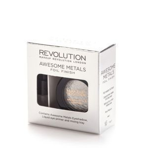 MAKEUP REVOLUTION Eye foils cień PURE PLATINUM