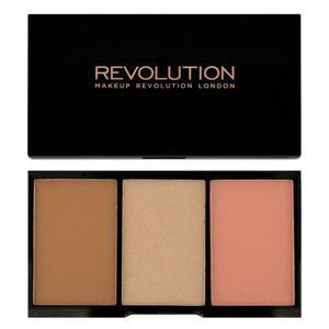 MAKEUP REVOLUTION ICONIC Zestaw do konturowania GOLDEN HOT