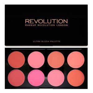 MAKEUP REVOLUTION Ultra Blush Palette PALETA RÓŻY All About Cream