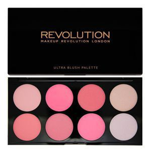 MAKEUP REVOLUTION Ultra Blush Palette PALETA RÓŻY All About Pink