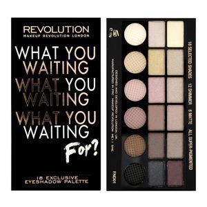 MAKEUP REVOLUTION What you waiting for? Paleta 18 cieni