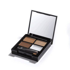 MAKEUP REVOLUTION Zestaw do brwi Focus & Fix Medium Dark