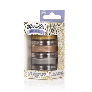 NATURAL PRODUCTS Metallic Body Paint METALICZNE FARBKI DO CIAŁA