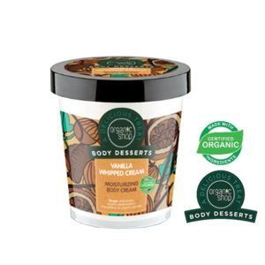 ORGANIC SHOP- Body Desserts – VANILLA WHIPED CREAM – nawilżający krem do ciała