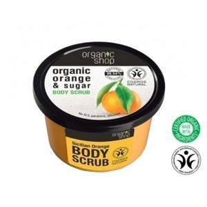 ORGANIC SHOP Peeling do ciała ORANGE & SUGAR OS61