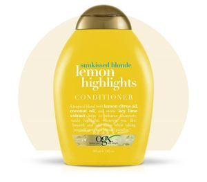 Organix ODŻYWKA do włosów blond  Lemon Highlights - 385 ml