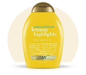Organix SZAMPON do włosów blond  Lemon Highlights - 385 ml