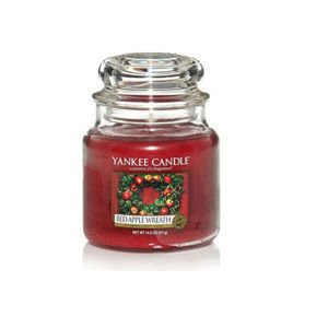 Red Apple Wreath - SŁOIK ŚREDNI Yankee Candle