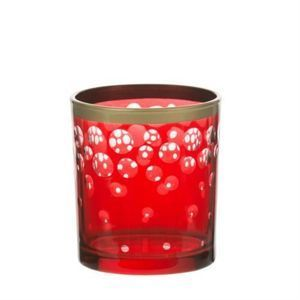 Red and Gold Snowfall ŚWIECZNIK NA SAMPLER YANKEE CANDLE