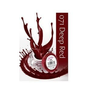 SEMILAC 071 UV Gel Color Deep Red  5ml