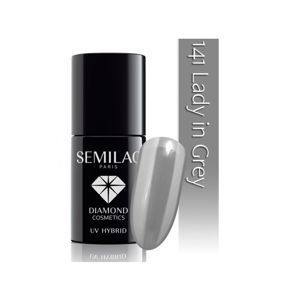 SEMILAC Lakier hybrydowy 141 Lady in Grey 7 ml