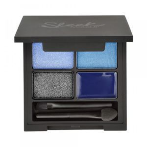 Sleek Makeup EYE-QUAD 3 cienie + eyeliner MIDNIGHT BLUES