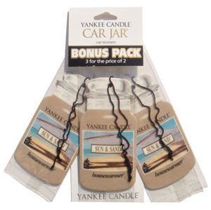 Sun & Sand - CAR JAR Bonus Pack - Yankee Candle