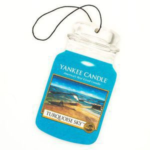Turquoise Sky - CAR JAR Yankee Candle