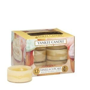Vanilla Cupcake - TEA LIGHT Yankee Candle