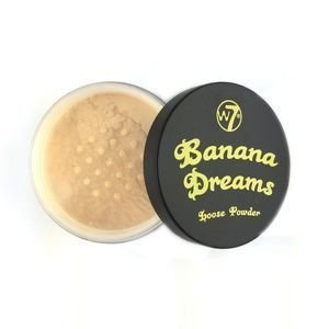 W7 BANANA DREAMS - sypki puder do twarzy