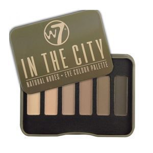 W7 In The CITY Paleta 6 cieni