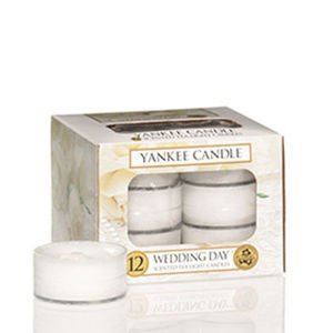Wedding Day - TEA LIGHT Yankee Candle Zestaw 12 Świeczek