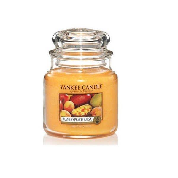 Mango Peach Salsa - SŁOIK ŚREDNI Yankee Candle | MARKI \ Yankee ...