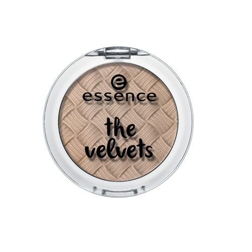 ESSENCE - Cień do powiek THE VELVETS 03 smooth caramel