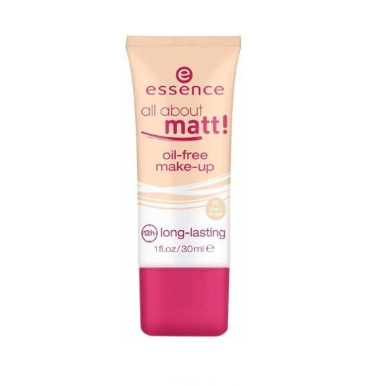 ESSENCE Podkład All About Matt 10 matt beige
