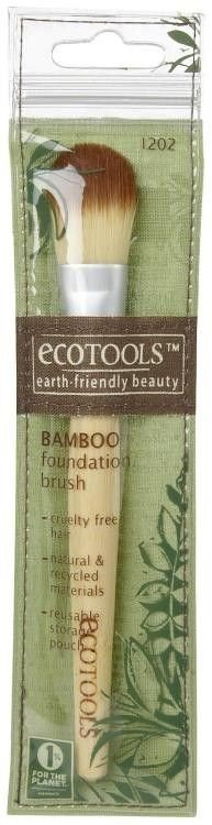 EcoTools Foundation Brush Pędzel do podkładu 1202